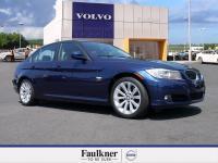 Clean CARFAX. LeMans Blue Metallic 2011 BMW 3 Series