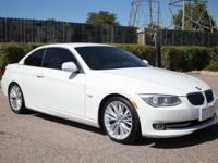 Clean CARFAX. 2011 BMW 3 Series 335i White RWD 6-Speed