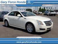 Our 2011 Cadillac CTS Luxury Sedan seeks your attention
