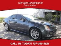 Clean CARFAX. This 2011 Cadillac CTS Premium in Thunder