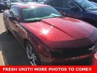 CARFAX One-Owner. Certified. Camaro 2LT 2LT, 2D Coupe,