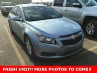 Clean CARFAX. Certified. Cruze 1LT, 4D Sedan, ECOTEC