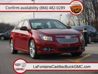 Body Style: Sedan Exterior Color: Crystal Red Metallic