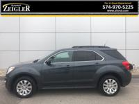 Cyber Gray Metallic Chevrolet Equinox LT 2011  LEATHER,