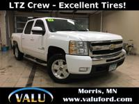 **Remote Start and Heated Leather!** 4WD LTZ Crew with