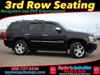 LOCAL TRADE IN, LEATHER INTERIOR, Tahoe LTZ, 4D Sport