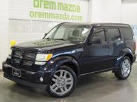 2011 Dodge Nitro Heat Blackberry RWD 3.7L V6 4-Speed