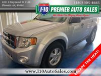 Ingot Silver Metallic 2011 Ford Escape XLT AWD 6-Speed