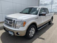 2011 Ford F-150 Lariat Crew Cab 4WD, Back Up Camera,