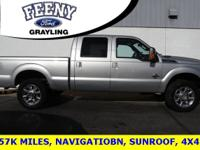 Silver 2011 Ford F-250SD Lariat 4WD TorqShift 6-Speed