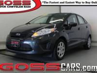 Gray 2011 Ford Fiesta S, FWD, 5-Speed Manual, 1.6L I4