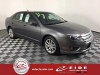 2011 Ford Fusion 4D Sedan SEL***Sterling Gray