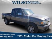 Gray 2011 Ford Ranger XLT 4WD 5-Speed Automatic with