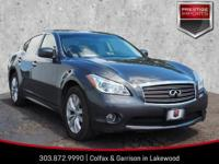 Grey 2011 INFINITI M37 X AWD 3.7L V6 with VVEL 7-Speed