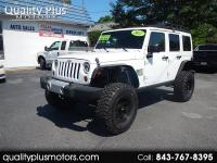 2011 Jeep Wrangler Unlimted Sahara Automatic Lifted on