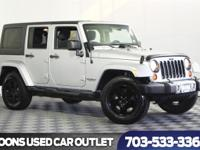 One Owner 2011 Jeep Wrangler Unlimited Sahara,