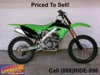 Used 2011 Kawasaki KFX450R dirt bike for sale - only
