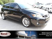 Scores 40 Highway MPG and 43 City MPG! This Lexus CT