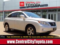 Solid and stately, this 2011 Lexus RX 350 is a