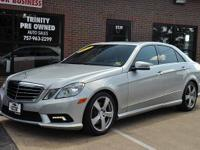 OVERVIEWThis 2011 Mercedes-Benz E-Class E350 4MATIC