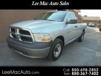 2011 DODGE RAM 1500 REGULAR CAB, LONG BED , V6 , LOOKS