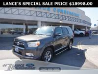 2011 Toyota 4Runner SR5 Magnetic Gray Metallic RWD 4.0L