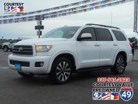 Look at this 2011 Toyota Sequoia SR5. Its Automatic