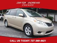 CARFAX One-Owner. This 2011 Toyota Sienna in Gold