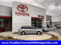 2011 Toyota Sienna XLE South Pacific Pearl 3.5L V6 SMPI