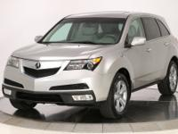 CARFAX One-Owner. Palladium Metallic 2012 Acura MDX