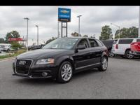 LEATHER!!!!! LOADED!!!!2012 Black Audi A3 Clean CARFAX.