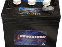 Golf Cart Batteries 8 V by Powertron made for gas golf