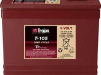 Golf Cart Battery Trojan T-105 Built to deliver