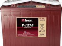 Trojan T-1275 12 v Golf Car Battery. Built to deliver