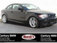 * Clean Carfax * This 2012 BMW 135i Coupe is Jet Black