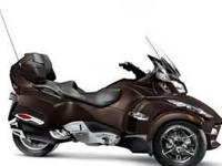 NICE Used 2012 Can-Am Spyder RT Limited in Lava Bronze.