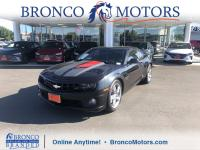 Gray 2012 Chevrolet Camaro SS 2SS RWD 6-Speed Automatic