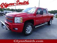 This Red 2012 Chevrolet Silverado 2500HD LT might be
