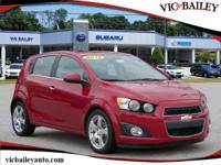 CARFAX One-Owner. This Chevrolet Sonic Features Leather