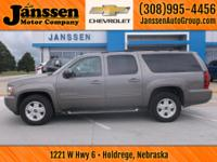 Drive home today in this 2012 Chevy Suburban. There is
