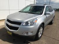 2012 Chevrolet Traverse 2LT AWD, Leather, Non-Smoker,