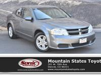 Come see this 2012 Dodge Avenger SXT. Its Automatic