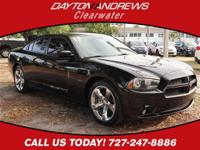 This 2012 Dodge Charger R/T in Pitch Black features:
