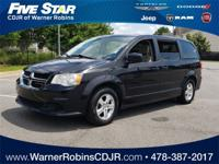 2012 Dodge Grand Caravan SXT Brilliant Black Crystal