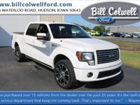White Platinum Metallic Tri-Coat 2012 Ford F-150