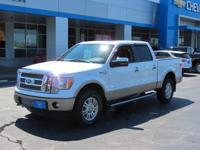 This terrific 2012 Ford F-150, with its grippy 4WD,