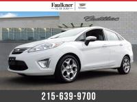 2012 Ford Fiesta SEL White ***ONLY AVAILABLE @ FAULKNER