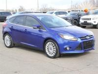 Body Style: Hatchback Exterior Color: Blue Interior