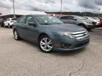 2012 Ford Fusion SE 6-Speed Automatic. 2.5L I4 6-Speed