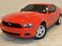2012 Ford Mustang V6 Red Priced below KBB Fair Purchase